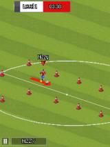 Real Football 2014 J2ME Dribbling between cones (SE K800i version)