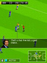 Real Football 2015 J2ME Referee showing a card (Nokia 6120 version)