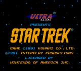 Star Trek: 25th Anniversary NES Title
