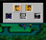 Star Trek: 25th Anniversary NES Away team options: Talk to your team members, use items, set your phaser to stun or full power or call the Enterprise to get beamed up.