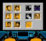 Star Trek: 25th Anniversary NES Ship options: Comunicate, enter battle mode, talk to crew members, call starmap or beam down to planets.