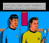 Star Trek: 25th Anniversary NES Most actions on the ship are acompanied be nice-looking animations.