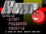 Xump: The Final Run Windows Title Screen