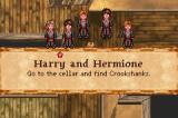 Harry Potter and the Prisoner of Azkaban Game Boy Advance At some points you get to choose which one of Harry's friends to take along.