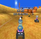 ATV Racers PlayStation Demo mode.