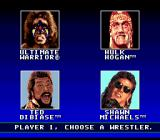 WWF Super WrestleMania Genesis Players select