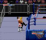 WWF Royal Rumble Genesis Fighting outside the ring