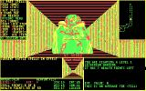 Moraff's Dungeons of the Unforgiven DOS Picture differences. CGA. Worst picture of them all, small and barely recognizable.