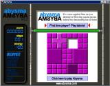 Abysma Windows The first time the game is played it opens to this screen. If a game had been saved the player would have the option to Resume it