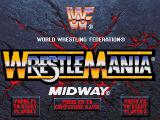 WWF WrestleMania DOS Title screen/Main menu