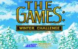 The Games: Winter Challenge DOS Title