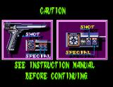 Laser Ghost SEGA Master System How to Play