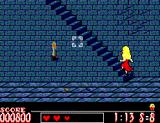 Laser Ghost SEGA Master System Walking up stairs