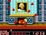 Laser Ghost SEGA Master System The haunted portrait