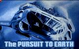 The Pursuit to Earth Amiga Loading screen.