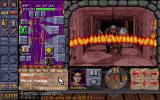 Dungeon Hack PC-98 Using magic attack (burning hands)