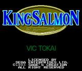 King Salmon: The Big Catch Genesis Title screen