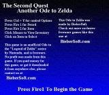 Ode to Zelda: The Second Quest Windows Starting instructions