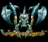 WeaponLord Genesis Title screen