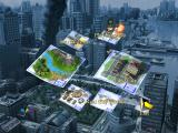 SimCity 3000 Unlimited Windows Main menu with a new background