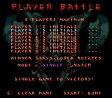 WeaponLord Genesis Vs. Mode