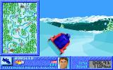 The Games: Winter Challenge DOS Bobsled