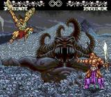 WeaponLord Genesis Another impressive scenery with a giant demon head as background