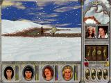 Might and Magic VI: The Mandate of Heaven Windows My Archer casts Lightning Bolt, a moderate-level Air spell, on an enemy wandering the snow plains. Look at his smug expression! :))