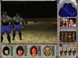 Might and Magic VI: The Mandate of Heaven Windows Take a look at my characters' portraits. Each one has been afflicted with a different status ailment - poisoned, diseased, driven insane... Expressive faces!