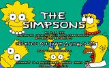 The Simpsons DOS Title