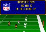 Troy Aikman NFL Football Genesis The receiver seems very upset