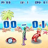 Summer Volley Palm OS Player 2 scores