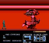 RoboCop NES ED-209 is back with the vengeance, this time it has much more health points, and there's barely enough time to beat it.