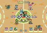 Tiny Toon Adventures: Acme All-Stars Genesis Jump ball in an urban setting