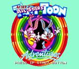 Tiny Toon Adventures: Acme All-Stars Genesis Title screen