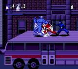 The Tick Genesis Fighting on a bus