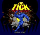 The Tick Genesis Title screen