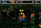 Thunder Force III Genesis Bad flowers!