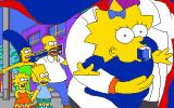 The Simpsons DOS New Game - Intro
