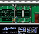 RoboCop NES Dude with a knife and a laser gun on the ceiling