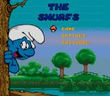 The Smurfs Genesis Title screen