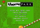 Theme Park Genesis Main menu