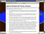 SimCity 2000: CD Collection Windows The Windows version has a more familiar help file, here it's showing  some of the Windows specific features which we now take for granted