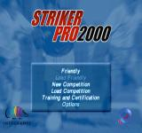 Striker Pro 2000 PlayStation Main menu