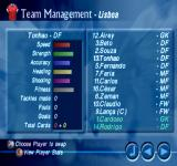 Striker Pro 2000 PlayStation View Player Stats