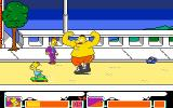 The Simpsons DOS Stage 1 Boss