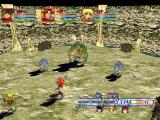 Grandia II Windows The very first boss battle against the horned beast and his minions