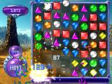 Bejeweled 2 Deluxe Windows A powergem detonates in the corner