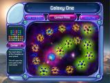 Bejeweled 2 Deluxe Windows The galaxy map in puzzle mode