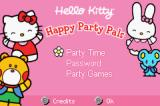 Hello Kitty: Happy Party Pals Game Boy Advance Main menu